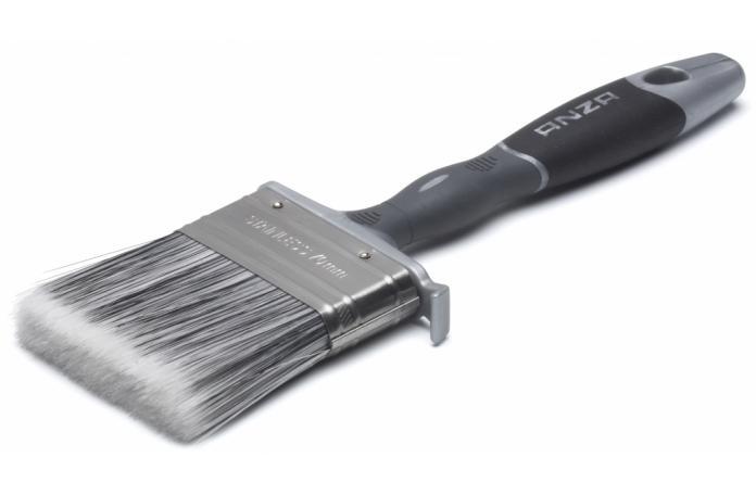 Плоска четка Platinum 35 мм. - ергономична дръжка