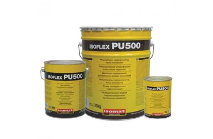 Изофлекс - ПУ - 500 полиуретанова хидроизолация, бял 6кг