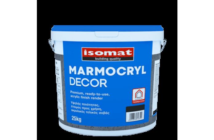 Мазилка Мармокрил Декор 3мм бяла влачена, 25kg