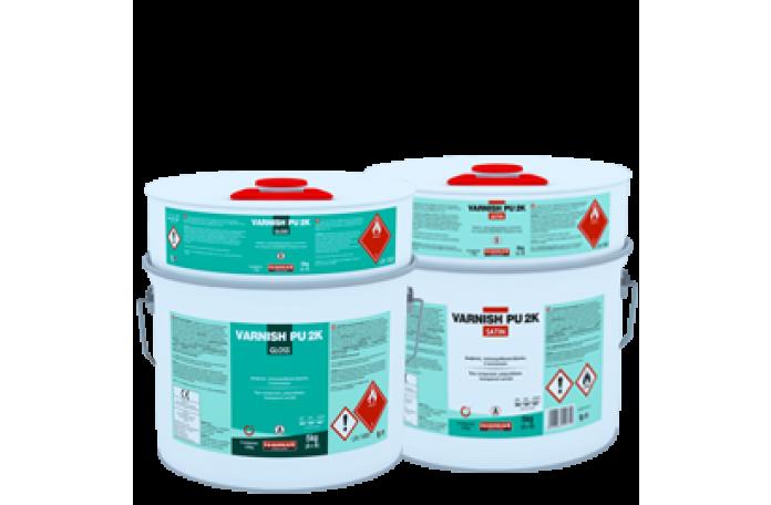 Варниш-ПУ 2KW Сатин-Мат - полиуретанов лак, 5кг