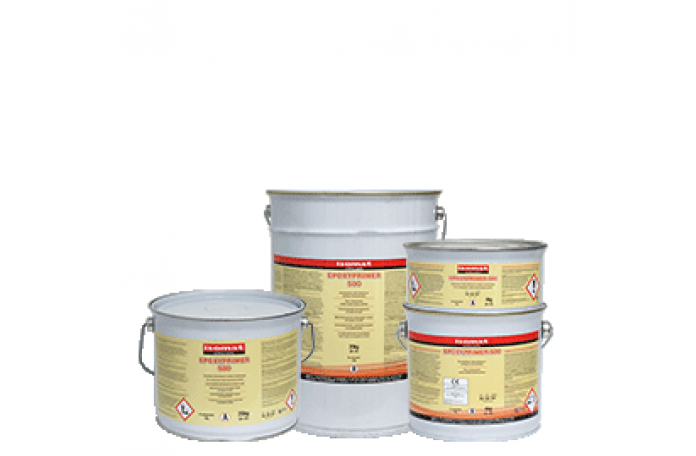 Епоксипраймър-500 двукомпонентен епоксиден грунд на водна основа / А + В / - 4 кг