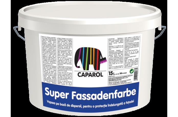 Боя фасадна Капарол Супер Фасаденфарбе Б1, 2,5л