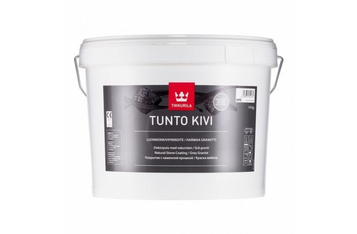 TUNTO Grey Stone KPC 9L/14kg Мазилка с естествен финландски камък
