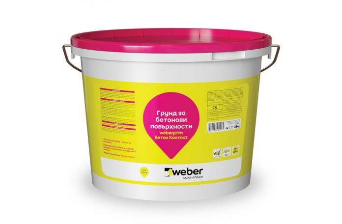 Weberprim SP6002500<br/>Бетон контакт, 25кг