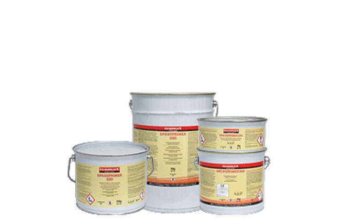 Епоксипраймър-500 двукомпонентен епоксиден грунд на водна основа / А + В / - 20 кг