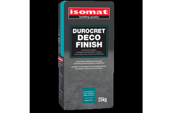 Дурокрет - Деко Финиш полимерна цимент. смес с фина зърнометрия, 25кг.