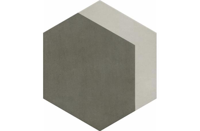 Гранитогрес Провенца Хексагон Декор Grey-Ice GS-N 4311 33/38 1кач.